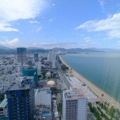 Апартаменты Sunrise Ocean View Apartment Нячанг приотельная территория