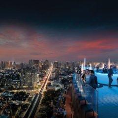 Отель Marriott Sukhumvit Бангкок балкон