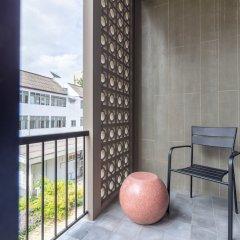 Reno Hotel Бангкок балкон