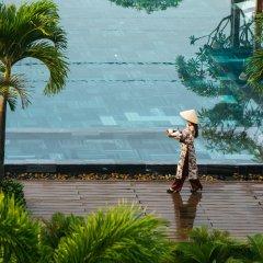 Отель Silk Sense Hoi An River Resort Вьетнам, Хойан - отзывы, цены и фото номеров - забронировать отель Silk Sense Hoi An River Resort онлайн пляж фото 2