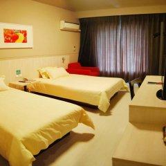 Отель Jinjiang Inn Tianjin Heping Anshandao сейф в номере