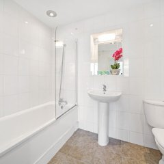Апартаменты Cosy 2 bedroom Apartment in Central London City Stay ванная