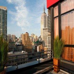 Отель DoubleTree by Hilton - Chelsea США, Нью-Йорк - 8 отзывов об отеле, цены и фото номеров - забронировать отель DoubleTree by Hilton - Chelsea онлайн балкон