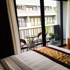 Апартаменты Maxshare Hotels & Serviced Apartments балкон