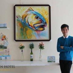 Queen Hotel Thanh Hoa интерьер отеля