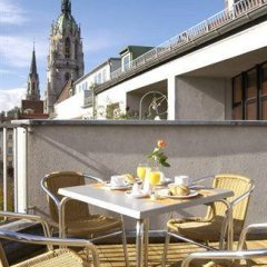 Отель Ghotel & Living Munchen-City Мюнхен балкон