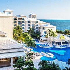 Отель Occidental Costa Cancún All Inclusive Мексика, Канкун - 12 отзывов об отеле, цены и фото номеров - забронировать отель Occidental Costa Cancún All Inclusive онлайн пляж фото 2