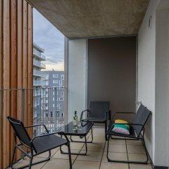 Апартаменты FeelGood Apartments Seestadt Green Living Вена балкон