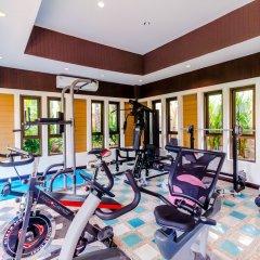 Отель Serene Boutique Garden Resorts фитнесс-зал