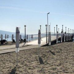 Отель Avliga Beach Болгария, Солнечный берег - отзывы, цены и фото номеров - забронировать отель Avliga Beach онлайн пляж фото 2