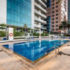 Апартаменты Peaks Apartments Dubai Marina бассейн