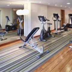 Отель Hilton Brussels City фитнесс-зал