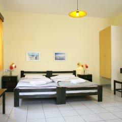Отель Kaissa Beach Греция, Гувес - 1 отзыв об отеле, цены и фото номеров - забронировать отель Kaissa Beach онлайн комната для гостей фото 3