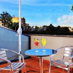 Отель Best Western Blu Hotel Roma Италия, Рим - отзывы, цены и фото номеров - забронировать отель Best Western Blu Hotel Roma онлайн балкон