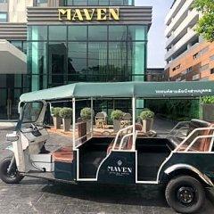 Maven Stylish Hotel Bangkok городской автобус