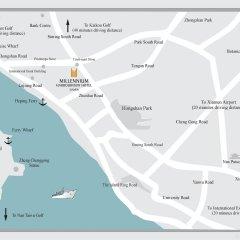 Millennium Harbourview Hotel Xiamen спортивное сооружение