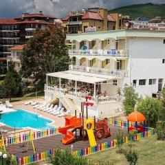 Отель Панорама Болгария, Свети Влас - отзывы, цены и фото номеров - забронировать отель Панорама онлайн бассейн фото 3