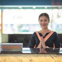 Отель Peace Laguna Resort & Spa Таиланд, Ао Нанг - 2 отзыва об отеле, цены и фото номеров - забронировать отель Peace Laguna Resort & Spa онлайн интерьер отеля фото 2