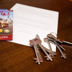 Апартаменты Oktogon Apartment удобства в номере