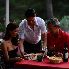 Отель Camping Le Pianacce Кастаньето-Кардуччи питание