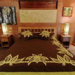 Отель Green Lodge Moorea Французская Полинезия, Папеэте - отзывы, цены и фото номеров - забронировать отель Green Lodge Moorea онлайн комната для гостей фото 4