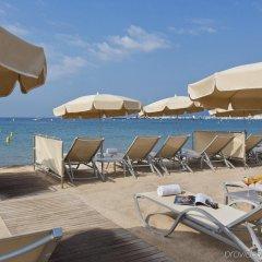 Hotel Barriere Le Gray d'Albion Канны пляж фото 2