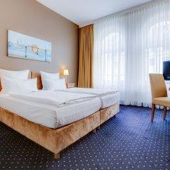 Отель Fürst Bismarck Германия, Гамбург - 4 отзыва об отеле, цены и фото номеров - забронировать отель Fürst Bismarck онлайн комната для гостей фото 3