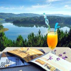Отель Dalat Edensee Lake Resort & Spa Уорд 3 балкон