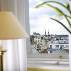 Отель Art Nouveau Palace Прага балкон