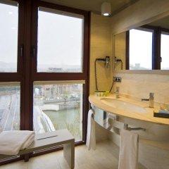 Отель Silken Amara Plaza Испания, Сан-Себастьян - 1 отзыв об отеле, цены и фото номеров - забронировать отель Silken Amara Plaza онлайн ванная фото 2