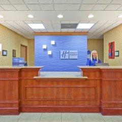 Отель Holiday Inn Express Vicksburg интерьер отеля фото 3
