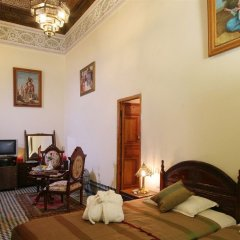 Отель Riad Ibn Khaldoun Марокко, Фес - отзывы, цены и фото номеров - забронировать отель Riad Ibn Khaldoun онлайн комната для гостей фото 3