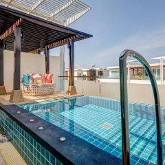 Отель The Pelican Residence & Suite Krabi Таиланд, Талингчан - отзывы, цены и фото номеров - забронировать отель The Pelican Residence & Suite Krabi онлайн бассейн