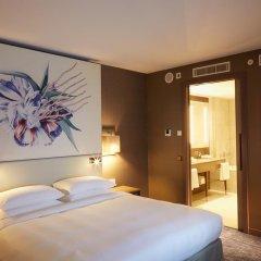 Отель Hyatt Regency Amsterdam Люкс с различными типами кроватей
