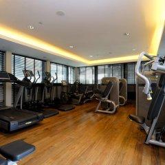 Отель Le Méridien Singapore, Sentosa фитнесс-зал