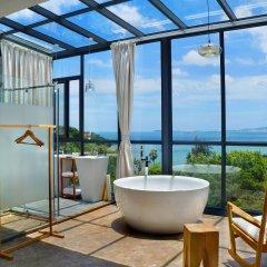 Отель Xiamen Gulangyu Liuyue Sea View Hotel Китай, Сямынь - отзывы, цены и фото номеров - забронировать отель Xiamen Gulangyu Liuyue Sea View Hotel онлайн ванная