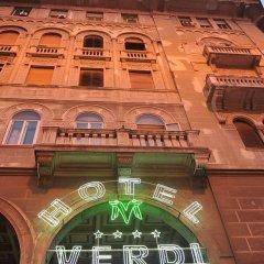 Best Western Hotel Moderno Verdi вид на фасад фото 2