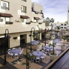 Отель Jw Marriott Santa Monica Le Merigot Санта-Моника питание фото 3
