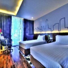Отель Galleria 10 Sukhumvit Bangkok by Compass Hospitality 4* Стандартный номер с различными типами кроватей фото 8