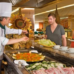 Отель Apartamentos HSM Calas Park - All Inclusive питание