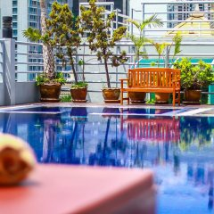 D Varee Diva Bally Sukhumvit Hotel Бангкок бассейн фото 3