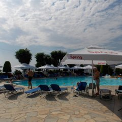 Hotel Mediterrane пляж