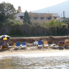 Апартаменты Iliostasi Beach Apartments пляж фото 2