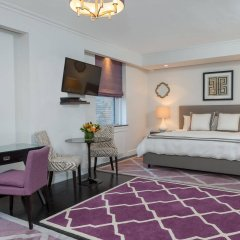 Отель The Lombardy Hotel США, Нью-Йорк - отзывы, цены и фото номеров - забронировать отель The Lombardy Hotel онлайн комната для гостей фото 3
