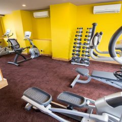 Alagon City Hotel & Spa фитнесс-зал фото 2