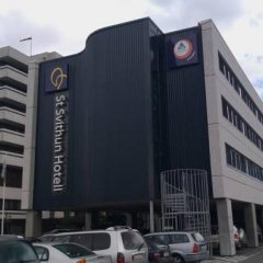 Отель Stavanger Vandrerhjem St Svithun парковка