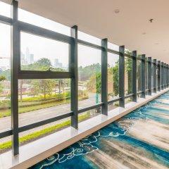 Отель Hoper Hotel (Shenzhen Huanggang Port) Китай, Шэньчжэнь - отзывы, цены и фото номеров - забронировать отель Hoper Hotel (Shenzhen Huanggang Port) онлайн балкон