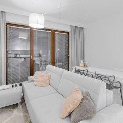 Апартаменты Wilanow Lovely Apartment комната для гостей фото 4