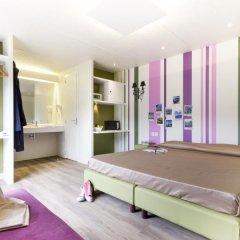 Отель Camping Village Roma Улучшенное бунгало с различными типами кроватей фото 11