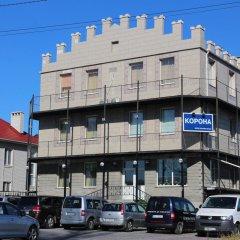 Гостиница Корона парковка